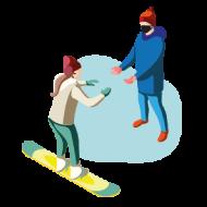 Escuela de esqui de teruel